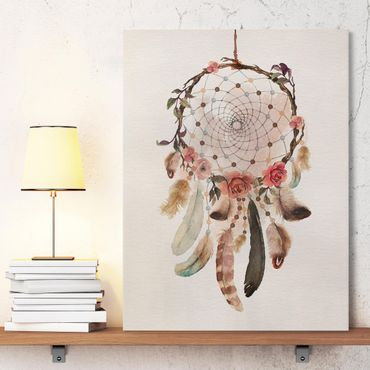Stampa su tela - Dream Catcher With Beads - Verticale 3:4