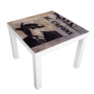 Carta adesiva per mobili IKEA - Lack Tavolino Al Capone