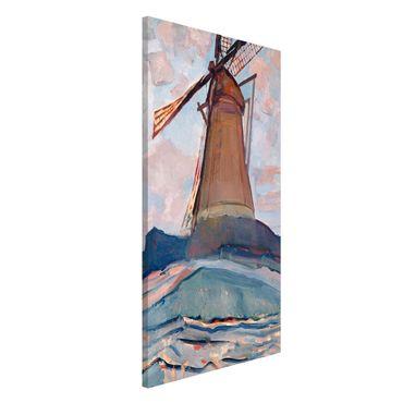Lavagna magnetica - Piet Mondrian - Windmill - Formato verticale 4:3