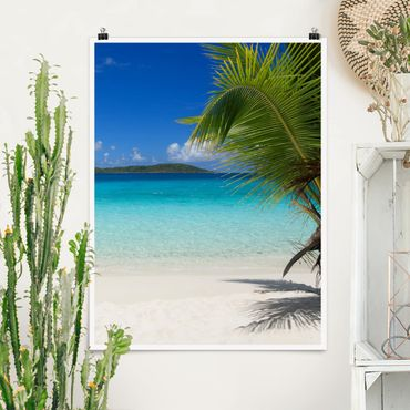 Poster - Perfect Maledives - Verticale 4:3