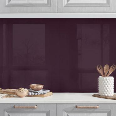 Rivestimento cucina - Color melanzana