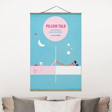 Foto su tessuto da parete con bastone - Film Poster Pillowtalk - Verticale 3:2