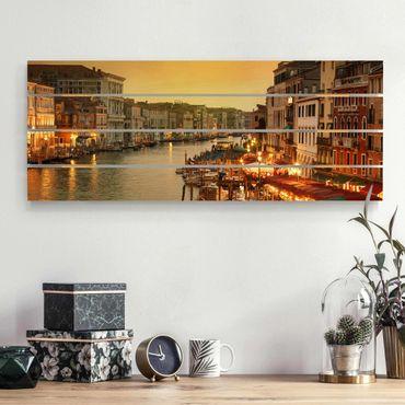 Stampa su legno - Canal Grande di Venezia - Orizzontale 2:5