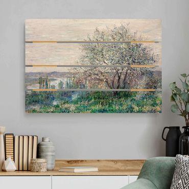 Stampa su legno - Claude Monet - Primavera Mood - Orizzontale 2:3