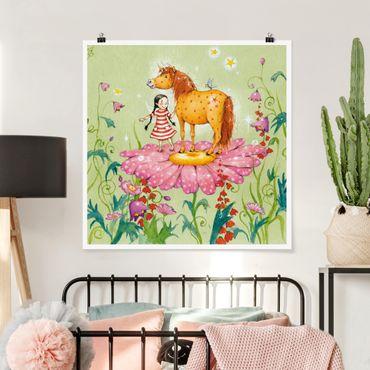 Poster - The Magic Pony Sul Fiore - Quadrato 1:1