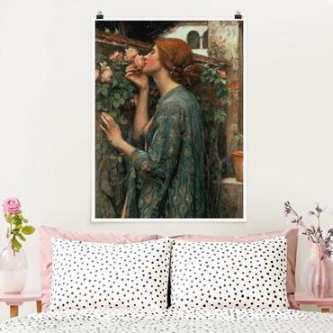 Poster - John William Waterhouse - L'anima della rosa - Verticale 4:3