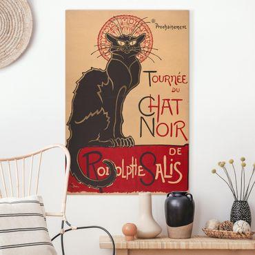 Quadri su tela - Théophile Steinlen - The Black Cat