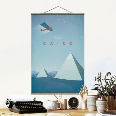 Foto su tessuto da parete con bastone - Poster viaggio - Il Cairo - Verticale 3:2