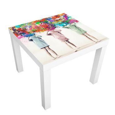 Carta adesiva per mobili IKEA - Lack Tavolino Brain Explosions