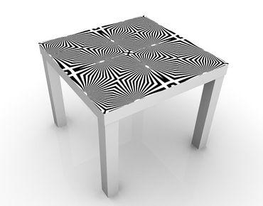 Tavolino design Abstract Ornament Black And White