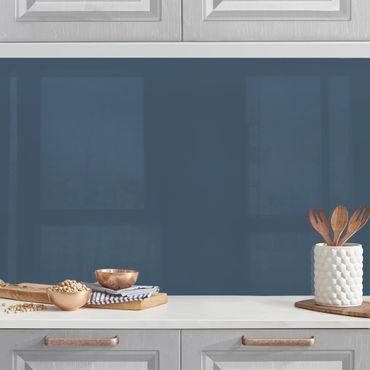 Rivestimento cucina - Color blu ardesia