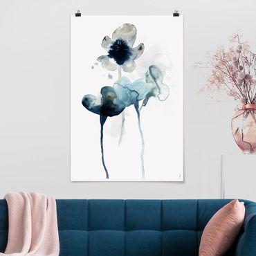Poster - Midnight Bloom II - Verticale 3:2