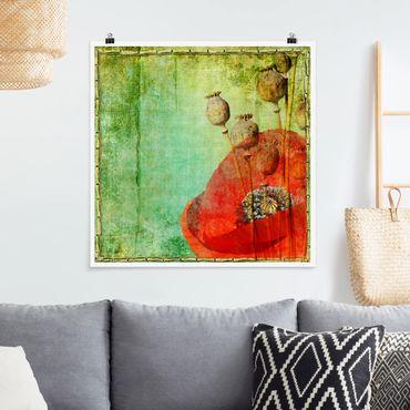 Poster - Poppy Gambi - Quadrato 1:1