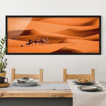 Poster con cornice - Deserto Del Namib - Panorama formato orizzontale
