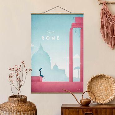 Foto su tessuto da parete con bastone - Poster Travel - Rome - Verticale 3:2