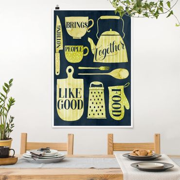 Poster - Soul Food - Good Food - Verticale 3:2