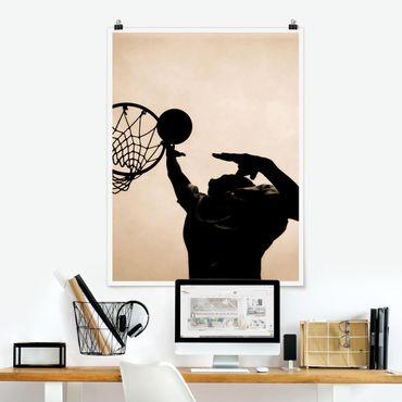 Poster - pallacanestro - Verticale 4:3