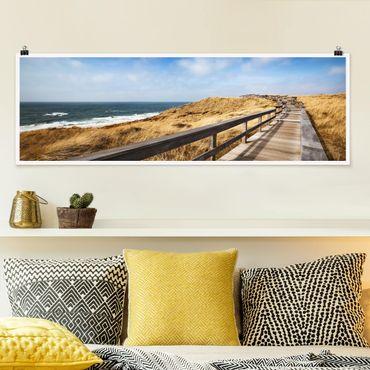 Poster - North Walk - Panorama formato orizzontale