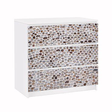 Carta adesiva per mobili IKEA - Malm Cassettiera 3xCassetti - Andalusian stone wall