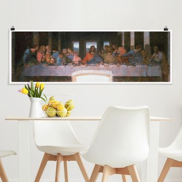 Poster - Leonardo Da Vinci - L'Ultima Cena - Panorama formato orizzontale