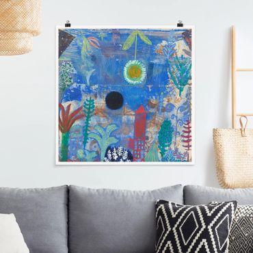 Poster - Paul Klee - Sunken Paesaggio - Quadrato 1:1