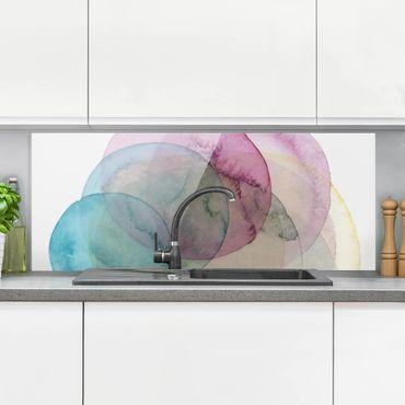 Paraschizzi in vetro - Big Bang - Pink