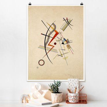 Poster - Wassily Kandinsky - Jahresgabe - Verticale 4:3