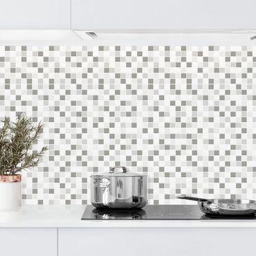 Rivestimento cucina - Mosaici set inverno