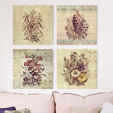 Stampa su tela - Vintage Floral Collection
