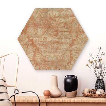 Esagono in legno - Ornamento I Tissue