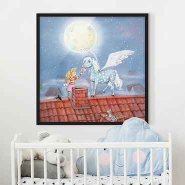 Poster con cornice - Marie's Magic Pony - Quadrato 1:1
