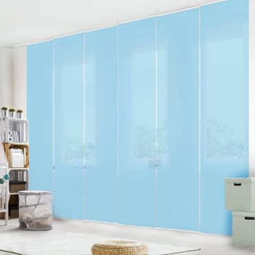 Tenda scorrevole set - Pastel Blue