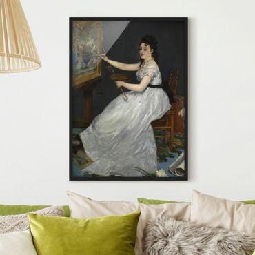 Poster con cornice - Edouard Manet - Eva Gonzalès - Verticale 4:3