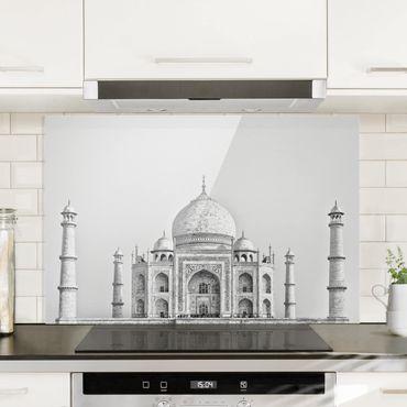 Paraschizzi in vetro - Taj Mahal In Gray