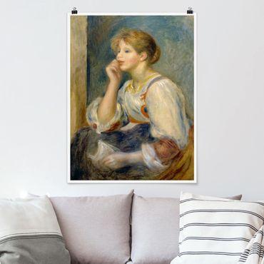 Poster - Auguste Renoir - Giovane ragazza con la lettera - Verticale 4:3