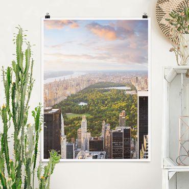 Poster - Affaccia su Central Park - Verticale 4:3
