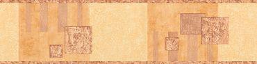 Carta da parati - A.S. Création Only Borders 9 in Marrone Arancione