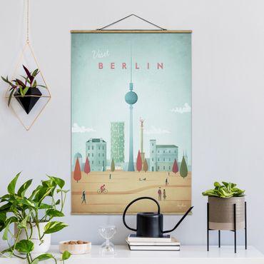 Foto su tessuto da parete con bastone - Poster viaggio - Berlino - Verticale 3:2
