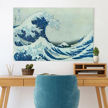 Quadri su tela - Katsushika Hokusai - La grande onda di Kanagawa un