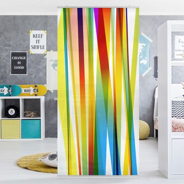 Tenda a pannello Rainbow Stripes 250x120cm