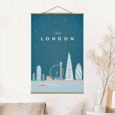 Foto su tessuto da parete con bastone - Poster Viaggio - Londra - Verticale 3:2