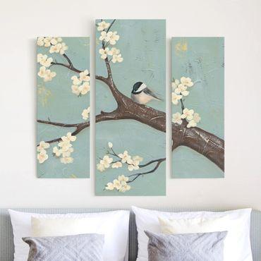 Stampa su tela - Cincia Su Cherry - Trittico da galleria