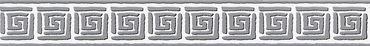 Carta da parati - A.S. Création Only Borders 9 in Grigio Nero Bianco