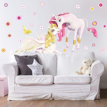 Adesivo murale - Unicorns Onchao e Lyria