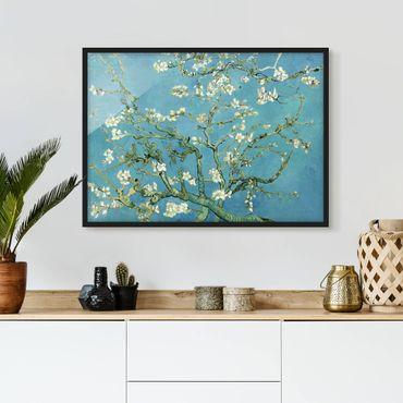 Poster con cornice - Vincent Van Gogh - Almond Blossom - Orizzontale 3:4