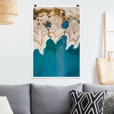 Poster - Laguna In Israele - Verticale 3:2