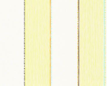 Carta da parati - Esprit Esprit Kids 5 Forest in Verde Arancione Bianco