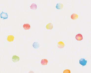 Carta da parati - Esprit Esprit Kids 5 Dots & Stripes in Multicolore