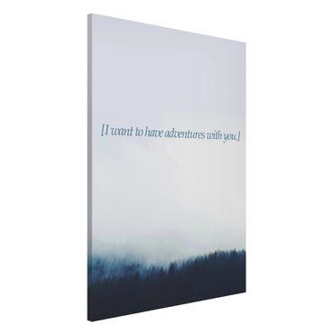Lavagna magnetica - Paesaggi lirici - Avventura - Formato verticale 2:3
