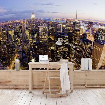 Carta da parati - New York skyline at night